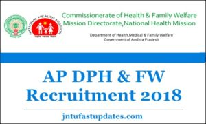 AP DPH & FW Recruitment 2018