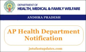 AP Health Department Notification 2018