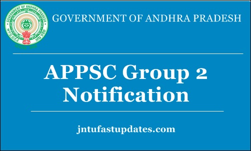 APPSC Group 2 Notification 2018