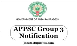 APPSC Group 3 Notification 2018 Apply Online For 1670 Panchayat Secretary & Junior Assistant Application Form