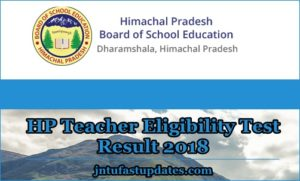 HP TET Result 2018 – JBT TGT Arts Teachers Answer Key, Cutoff Marks, Merit List @ Hpbose.org