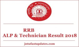 RRB ALP Results 2018 Release Date, Cutoff Marks – Indianrailways.gov.in Assistant Loco Pilot & Technician Merit List