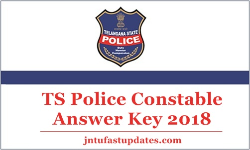 TS Police Constable Answer Key 2018