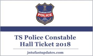TS Police Constable Hall Ticket 2018 (Released) – Download Telangana Constable Admit Card @ tslprb.in