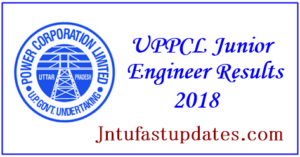 UPPCL Junior Engineer Results 2018 – JE Electrical Trainee Cutoff Marks & Merit List @ uppcl.org