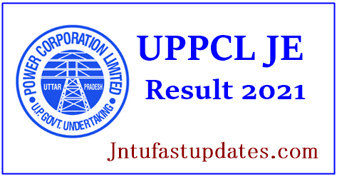 UPPCL JE Result 2021
