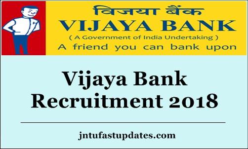 vijaya bank 2018 apply online