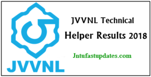 JVVNL Results 2018 Released – Jaipur Technical Helper Results, Cutoff Marks & Merit List @ energy.rajasthan.gov.in