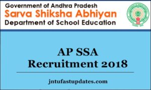 AP SSA Recruitment 2018