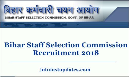 BSSC Recruitment 2018