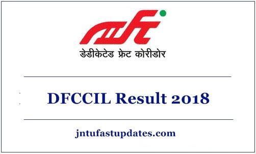 DFCCIL Result 2018