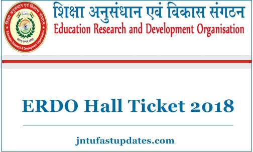 ERDO Hall Ticket 2018