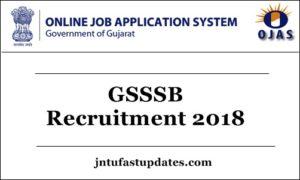 GSSSB Recruitment 2018 Apply Online For 2221 Posts* Clerk & Office Assistant – Application form Registration