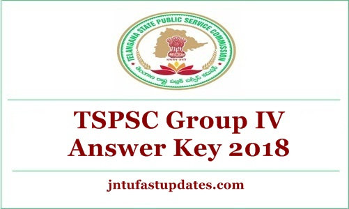 TSPSC Group 4 Answer Key 2018