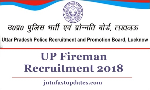 UP Fireman Recruitment 2018