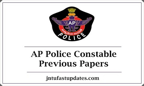 AP Police Constable Previous Papers