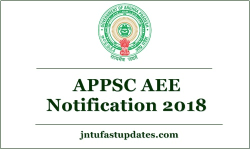 APPSC AEE Notification 2018