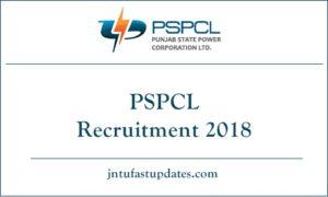 PSPCL Recruitment 2018