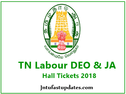 TN Labour Hall Tickets 2018