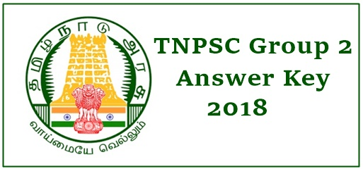 TNPSC Group 2 Answer Key 2018