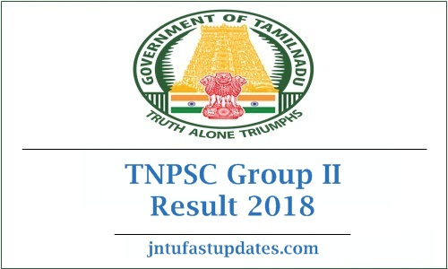 TNPSC Group II Result 2018