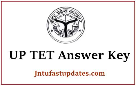 UPTET Answer Key 2020