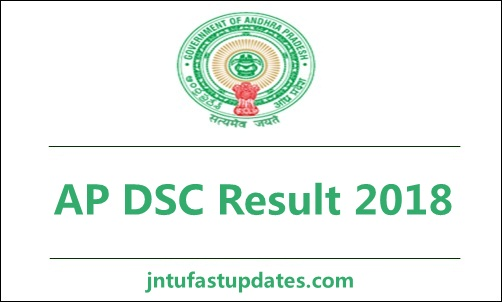 AP DSC Result 2018