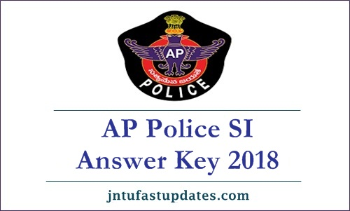 AP Police SI Answer Key 2019