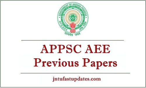 APPSC AEE Previous Papers Download For Civil/Electrical/Mechanical