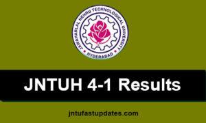 jntuh-4-1-results
