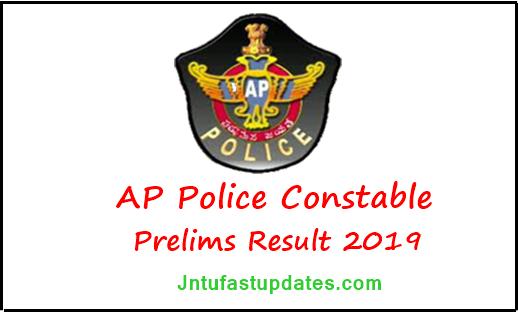 AP Police Constable Results 2019