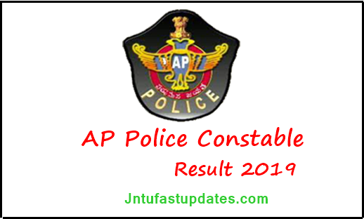 AP Police Constable Mains Results 2019