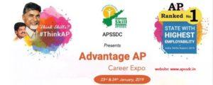 APSSDC Mega Job mela 23rd & 24th Jan 2019