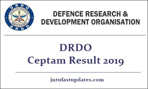 DRDO CEPTAM 9 Result 2019
