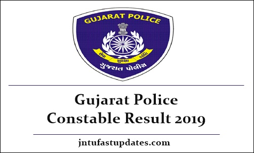 Gujarat Police Constable Result 2019