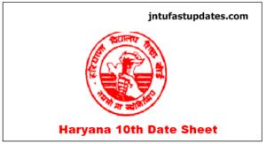 Haryana-Board-10th-Date-Sheet-2019