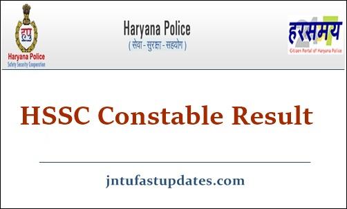 Haryana Police Constable Result 2021