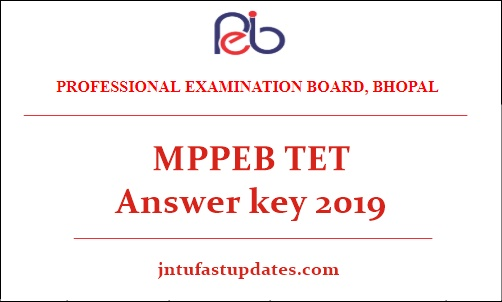 MP TET Answer key 2019