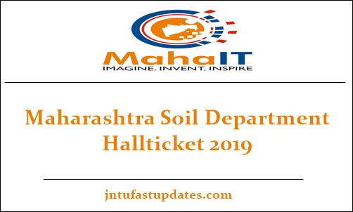 Maharashtra Soil Department Hall Ticket 2019