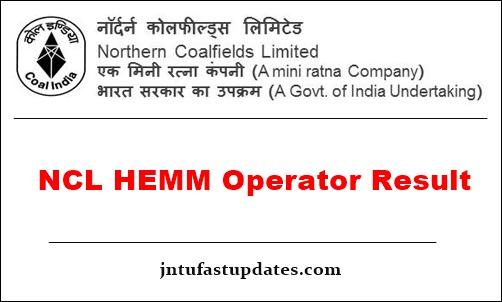 NCL-HEMM-Operator-Result-2019