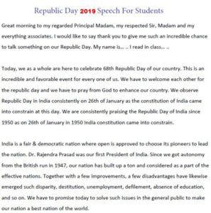 Republic-Day-2019-Speech-For-Students