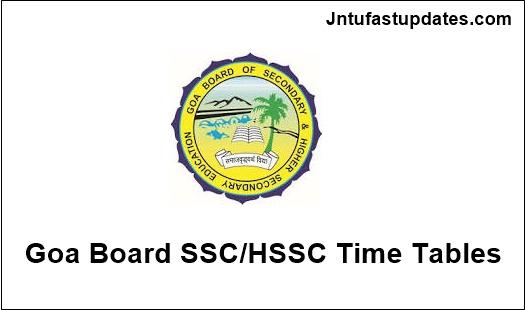goa-ssc-hssc-time-tables-2019
