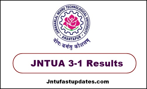 jntua 3-1 results nov/dec 2019
