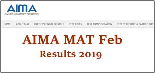 AIMA MAT Results 2019