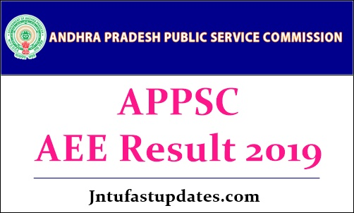 APPSC AEE Results 2019