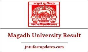 Magadh University Result 2019