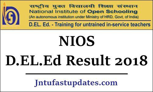NIOS DELED Result 2019