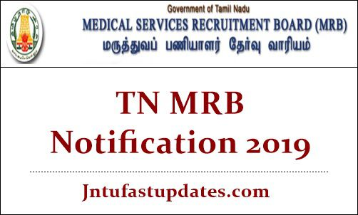 TN MRB Notification 2019