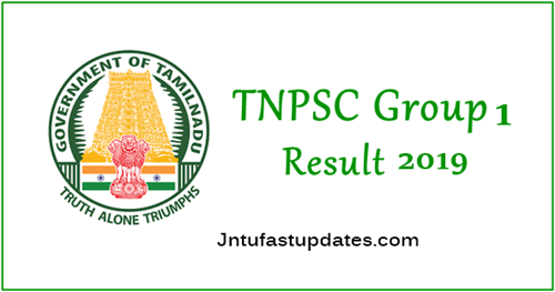 TNPSC Group 1 Results 2019