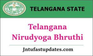 Telangana Nirudyoga Bhruthi